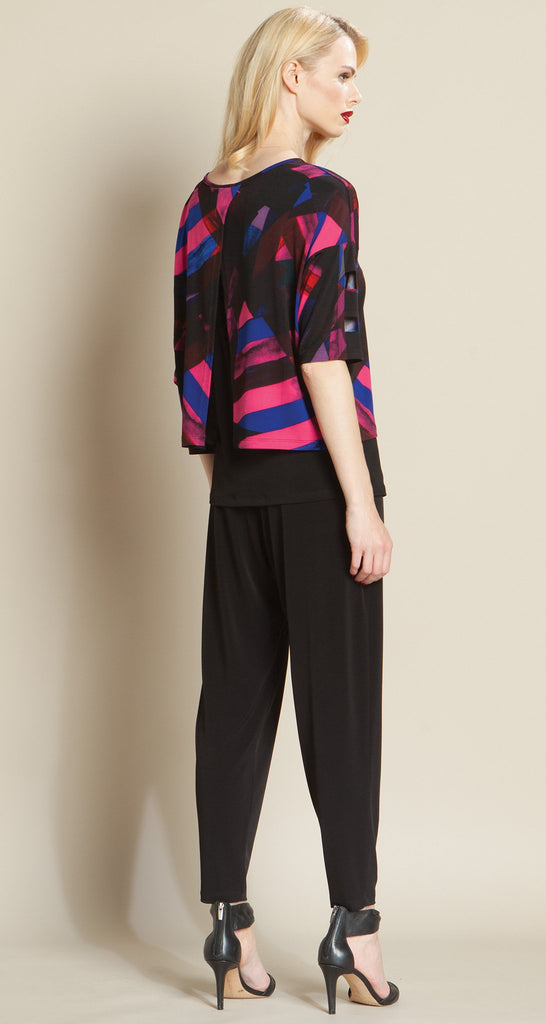 Printed Reversible Over-Layer Ladder Sleeve Box Top