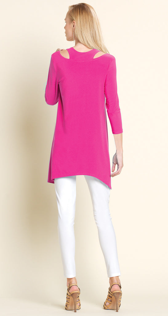 Racer Back Tunic - Fuchsia - Final Sale!