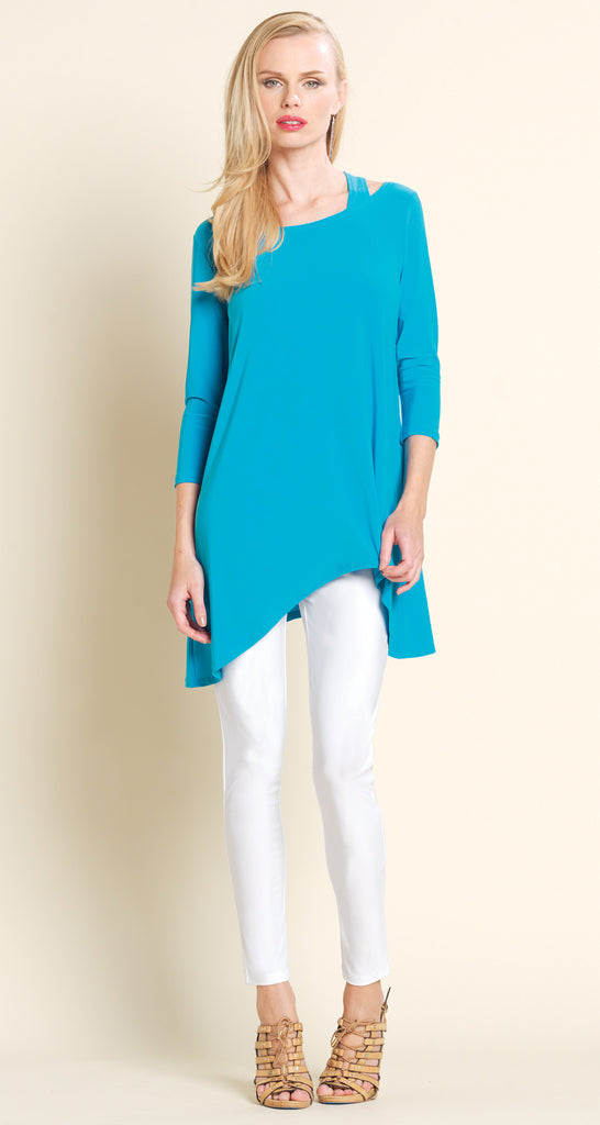 Racer Back Tunic - Turquoise - Final Sale!