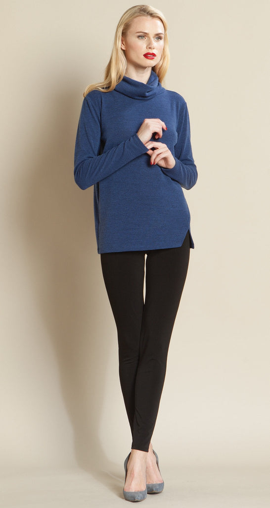 Turtleneck Sweater Top - Blue - Final Sale!