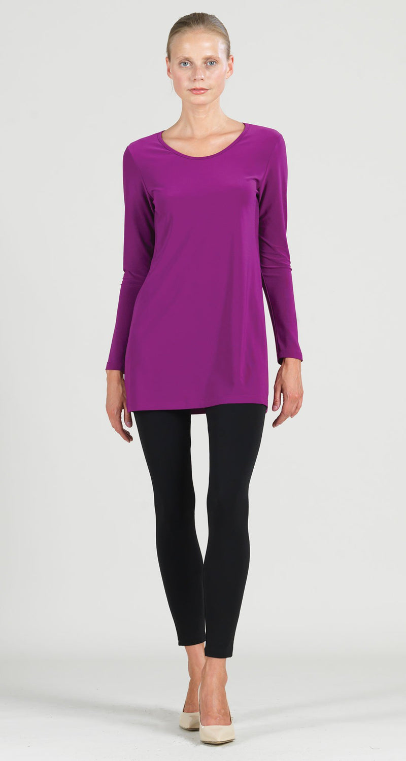 Scoop Neck Tunic - Violet - Limited Sizes XS, M ONLY!