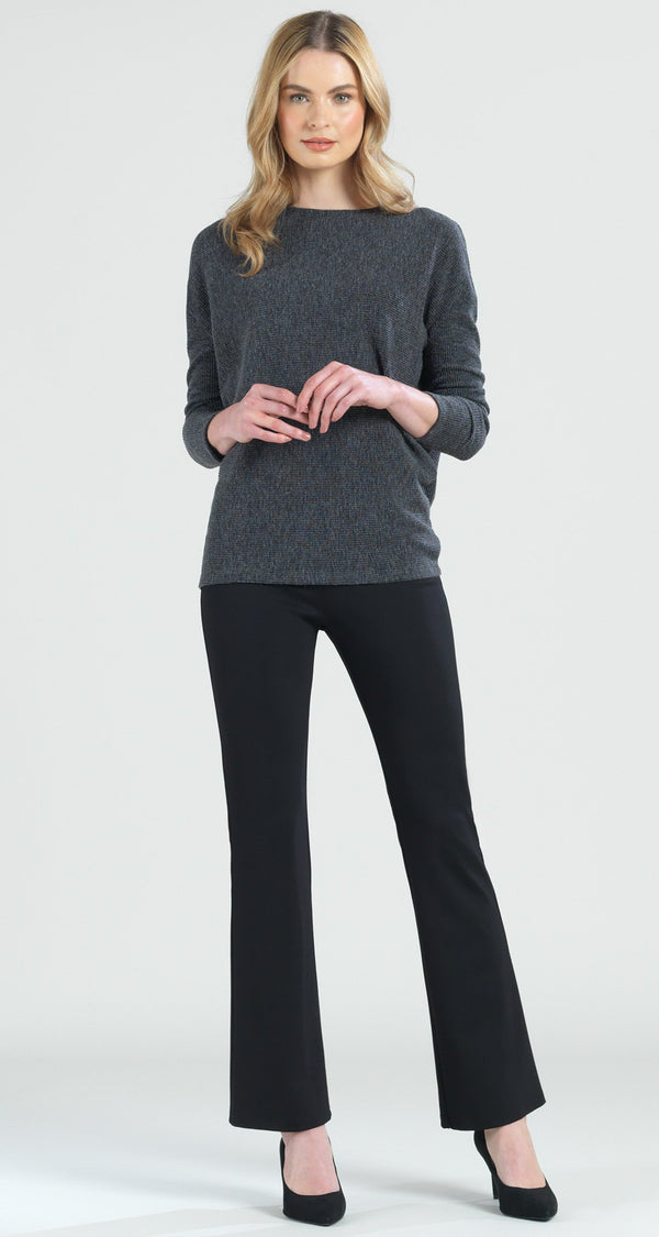 Ribbed Sweater Top - Grey - Final Sale!