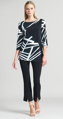 Color Block & Stripe Print Tunic - As seen on Today Show! - Clara Sunwoo