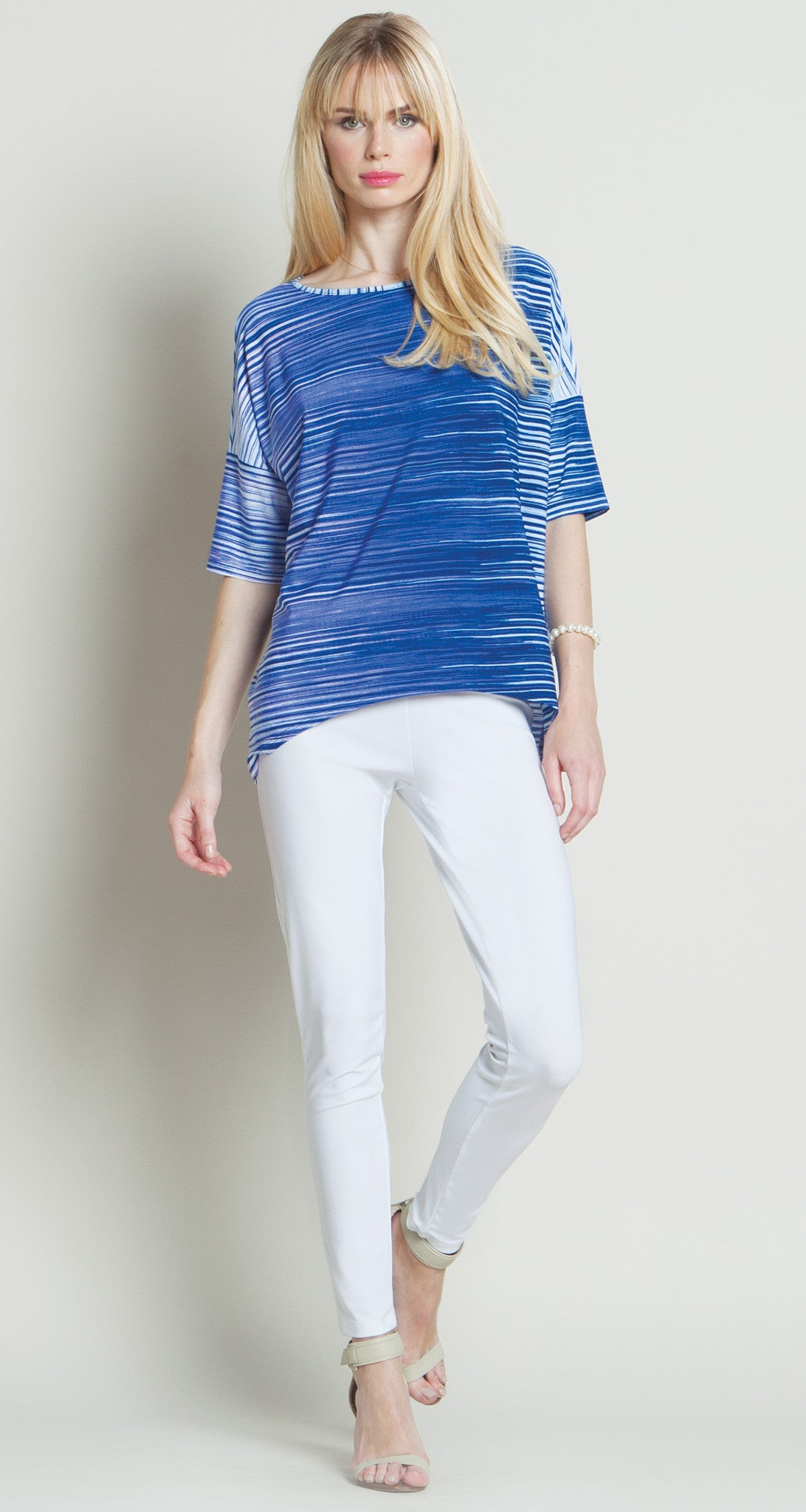 Contrast Stripe Top - Final Sale!