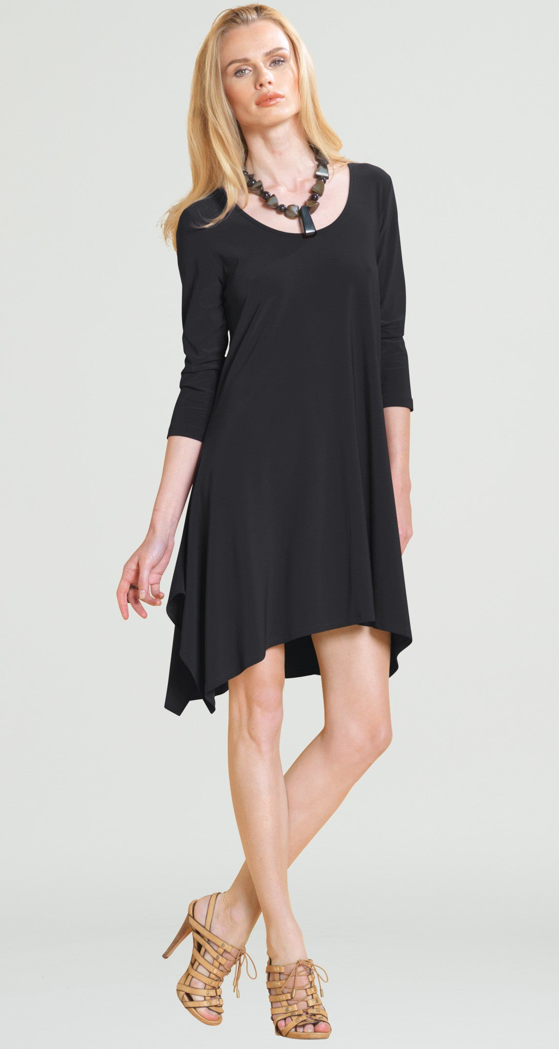 Trapezoid Tunic Dress