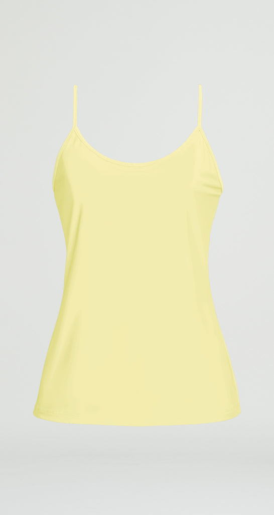 Spaghetti Strap Tank - Lemon - Final Sale!