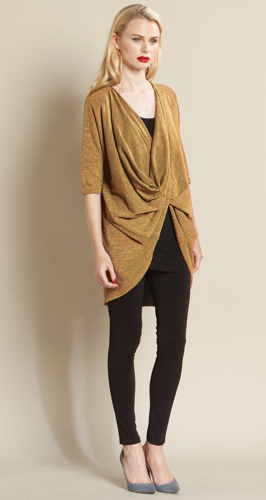 Crossover Under Loop Sweater Tunic - Honey -  Final Sale!