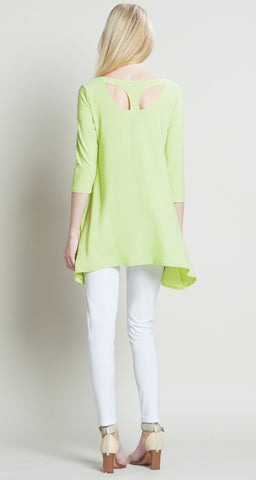Modern Back Cut-Out Tunic