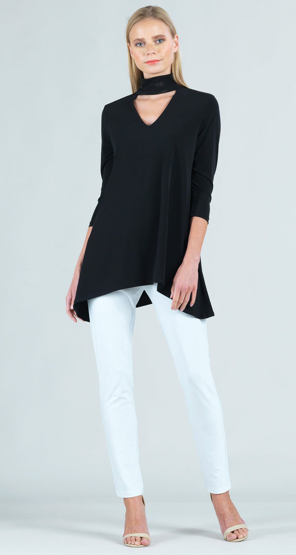 Choker Tunic - Black