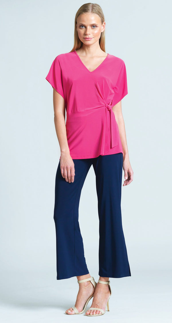 Solid Side Tie Tunic - Pink - Final Sale!