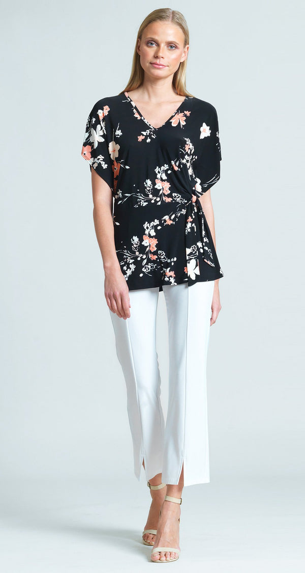 Floral Print Side Tie Tunic - Final Sale!