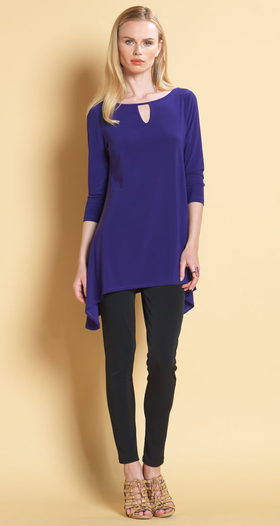 Keyhole Front Tunic - Purple - Final Sale!