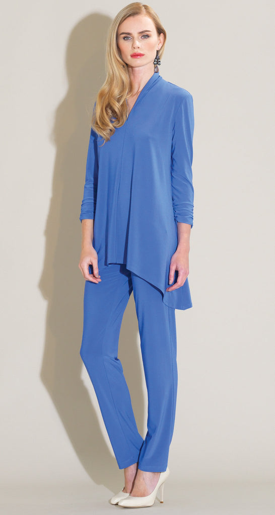Narrow V-Neck Tunic - Peri - Final Sale!