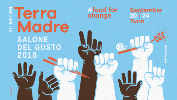 Terra Madre Salone del Gusto,  20 -24 Σεπτεμβρίου 2018, Τορίνο