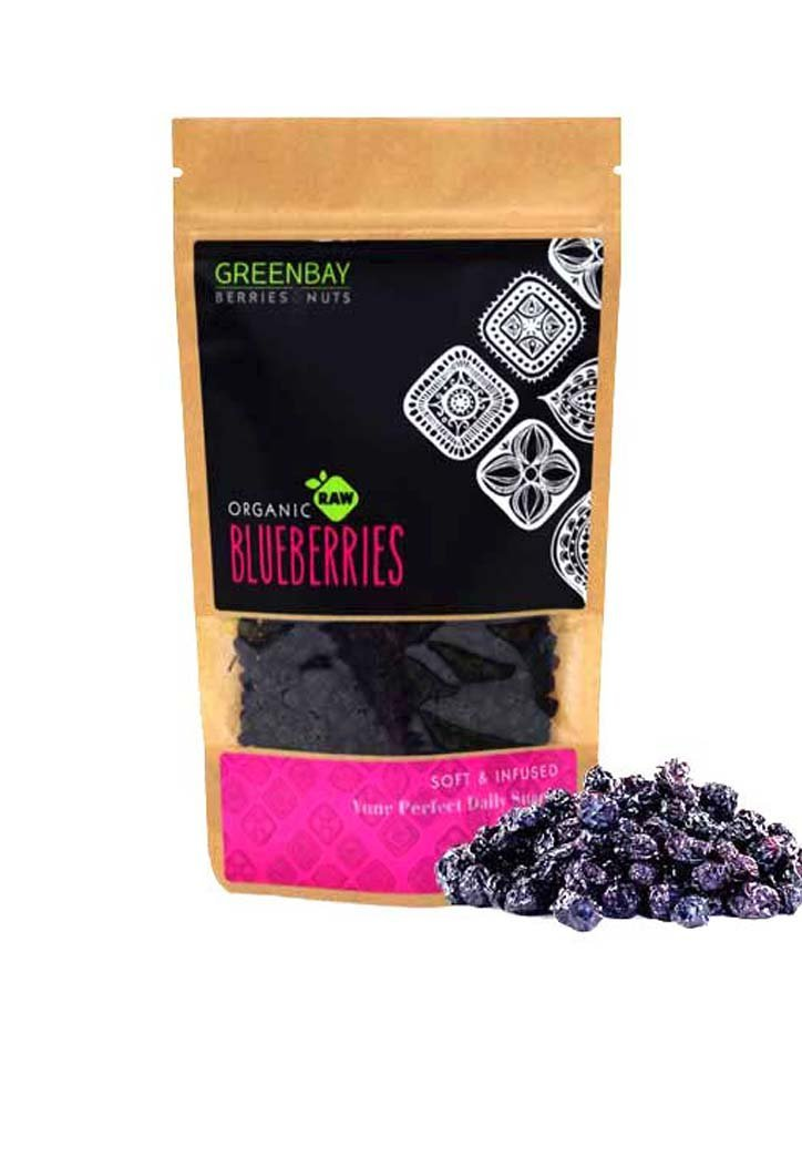 Bio Blueberries Αποξηραμένα-Green Bay-NorasDeli