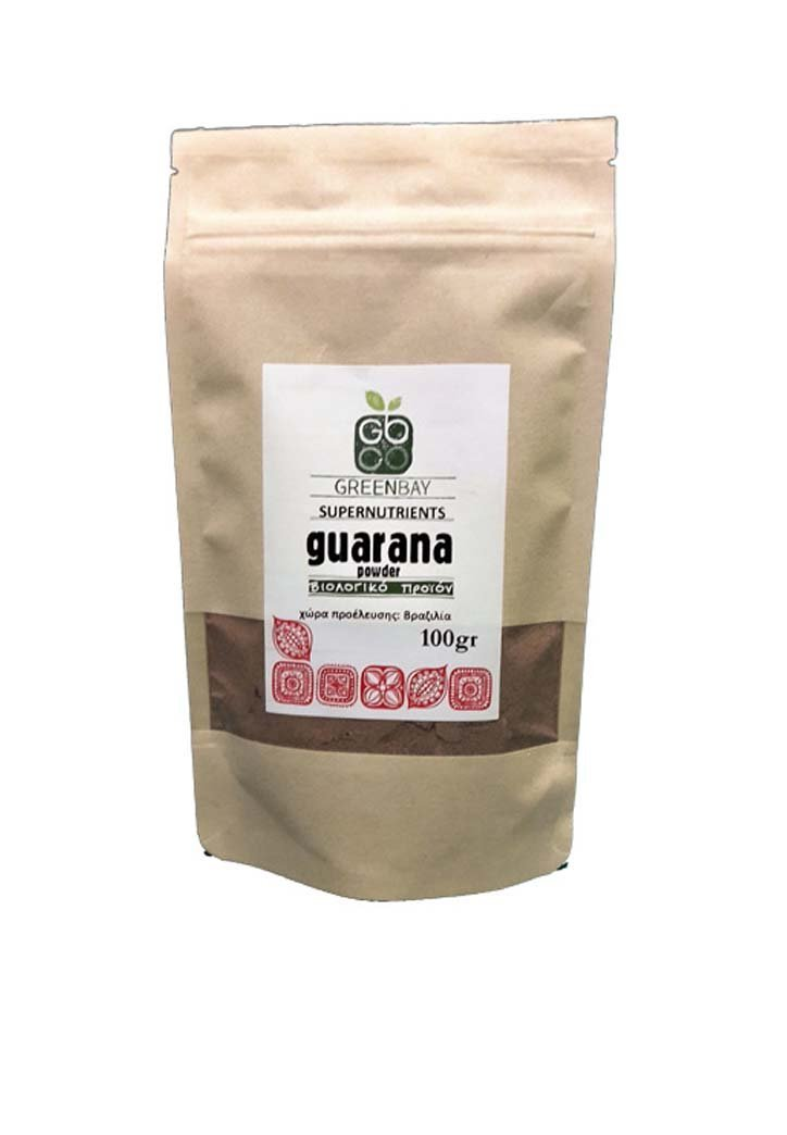Bio Guarana Σκόνη-Green Bay-NorasDeli