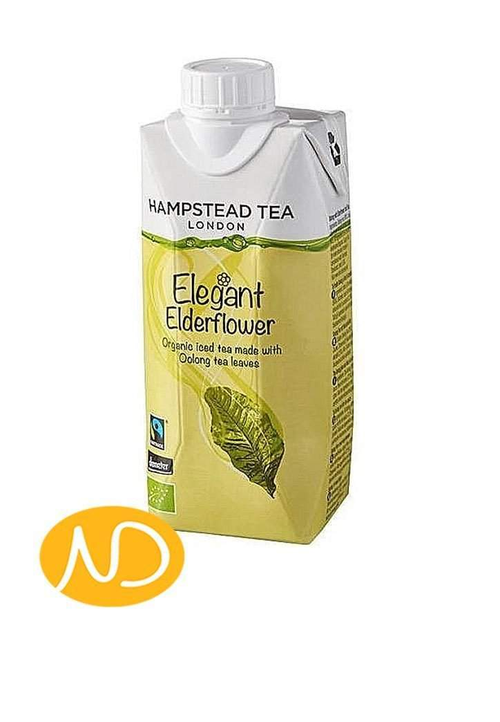 Bio Τσάι Elderflower Oolong Iced Tea-Hamstead-NorasDeli