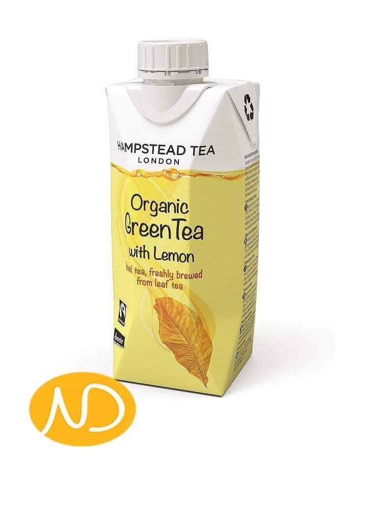 Bio Τσάι Lemon Green Iced Tea-Hamstead-NorasDeli