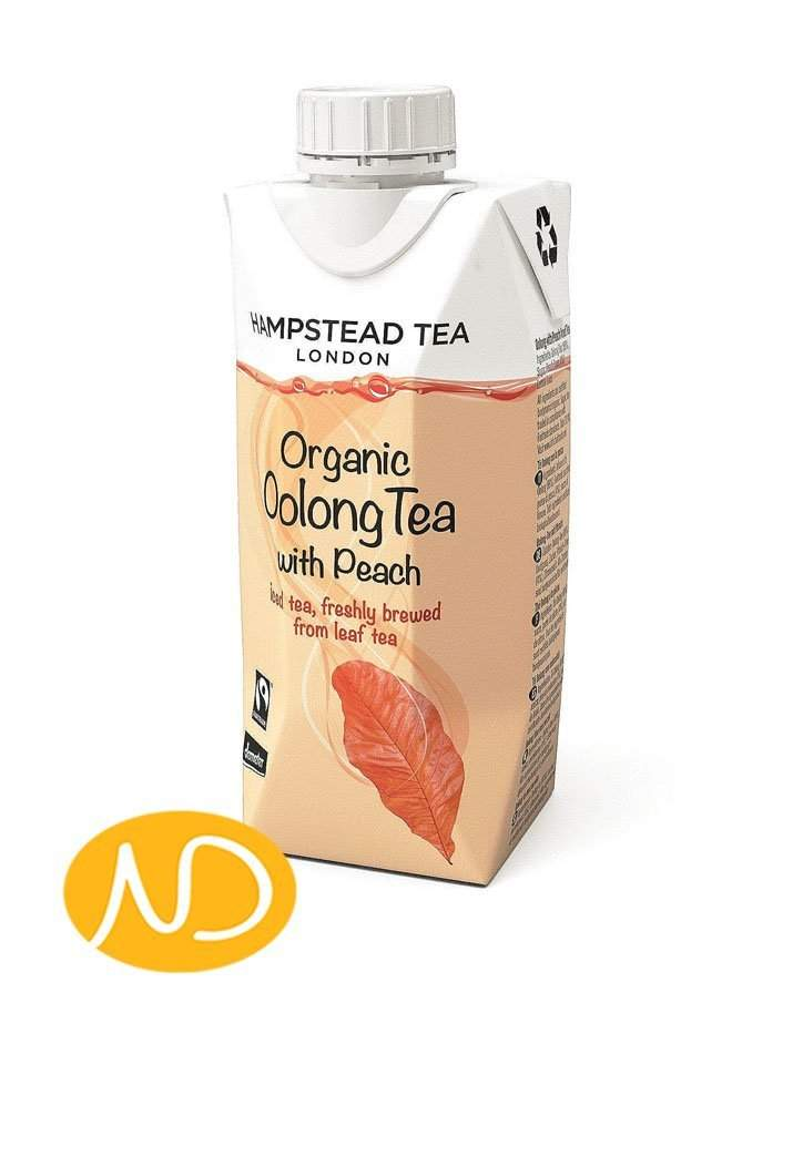 Tea Organic Oolong With Peach Iced Tea-Hamstead-NorasDeli