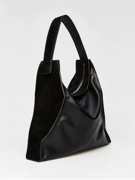 MEMBRANE large hobo bag