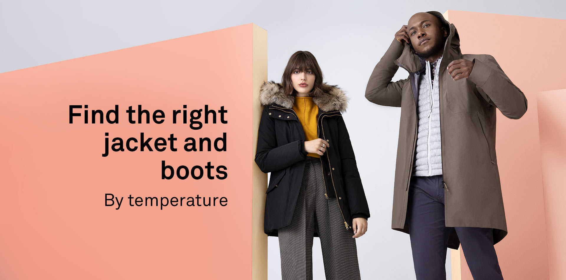 Find the right jacket by comfort zone