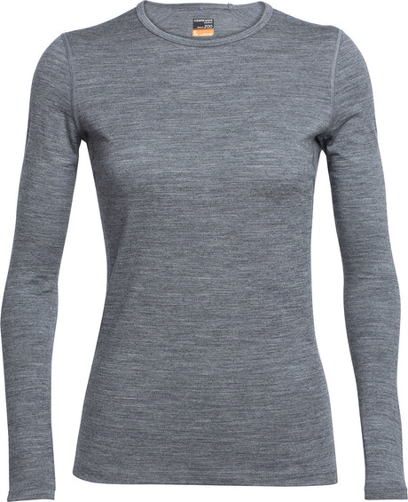 Icebreaker Oasis Long Sleeve Crewe - Women's