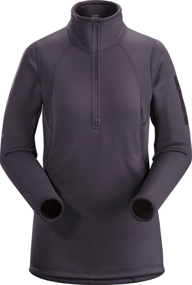 Arc'teryx Rho AR Zip Neck - Women's