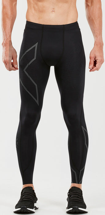 9df66914774a2 Loading spinner 2XU MCS Run Compression Tight with Back pocket - Men's  Black - Black Reflective