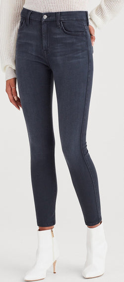 7 For All Mankind The Highwaist Ankle Skinny Denim - Women's