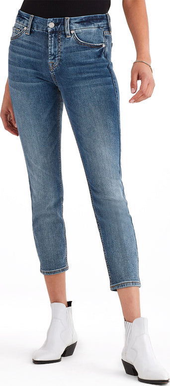 53f326ee00b Loading spinner 7 For All Mankind b(air) Authentic Denim Kimmie Crop in  Fortune - Women's