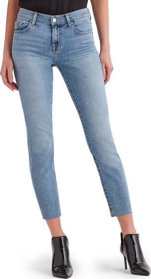 7 For All Mankind Luxe Vintage Roxanne Ankle with Cut Off Hem - Women's