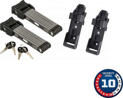 ABUS Bordo 6000 Twin Set, Folding Lock, Key Set