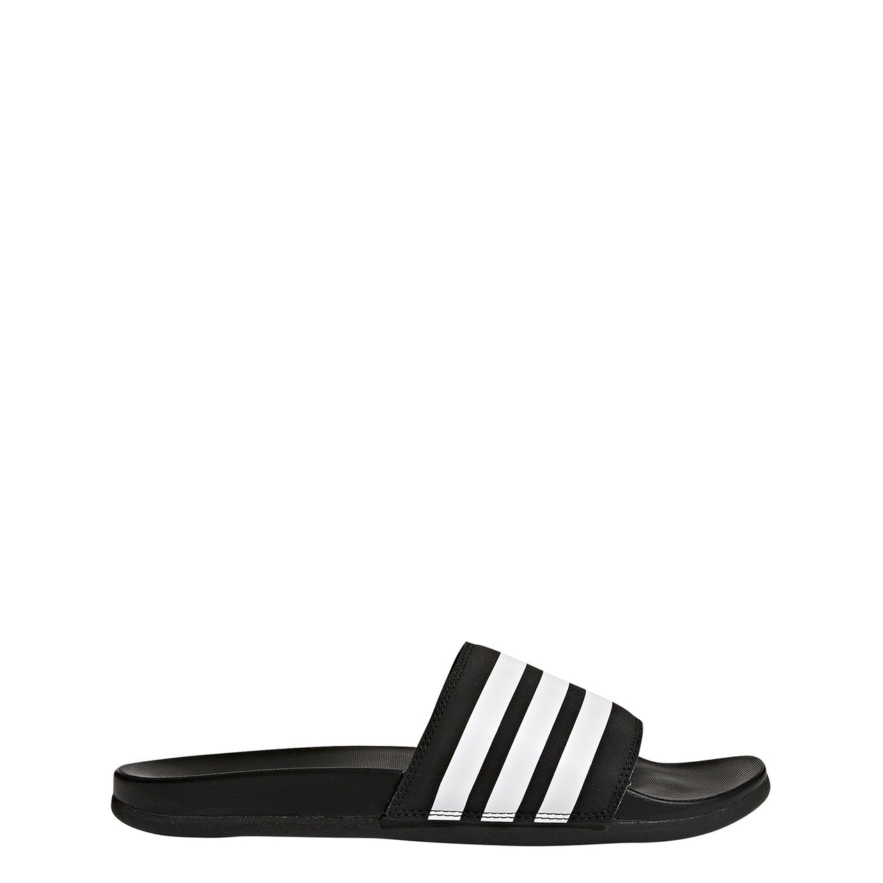 a33e4b44b Adidas Adilette Cloudfoam Plus Stripes Slides - Men s