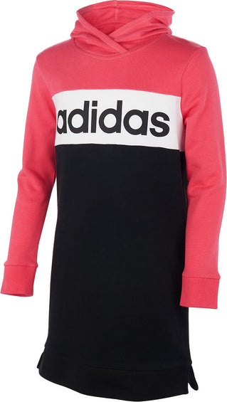 Adidas Core Hooded Dress - Girl's