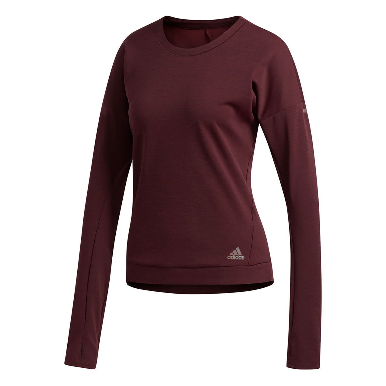 adidas Supernova Run Cru Sweatshirt Women ash silver