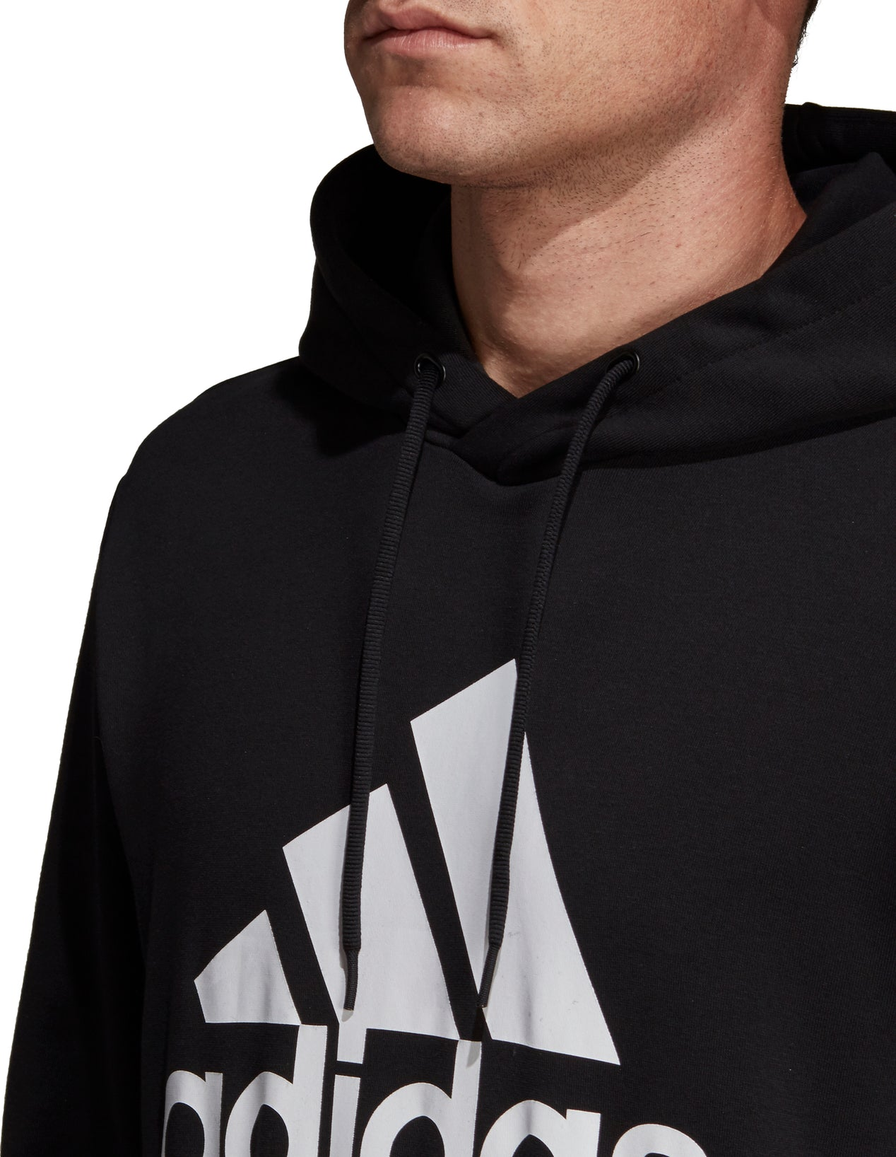 a6eea8ad3f3a25 ... Black · Adidas Must Haves Badge of Sport Hoodie - Men's thumb ...