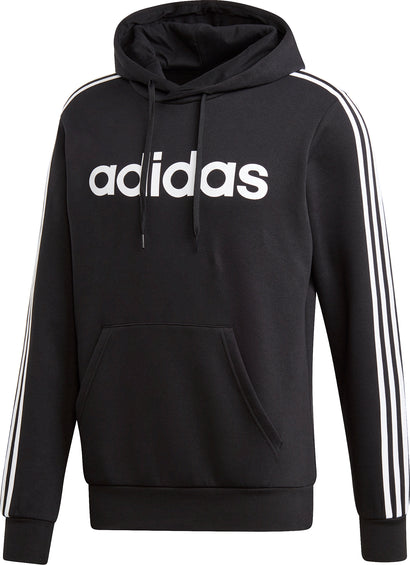 Adidas Essentials 3-Stripes Pullover Hoodie - Men's