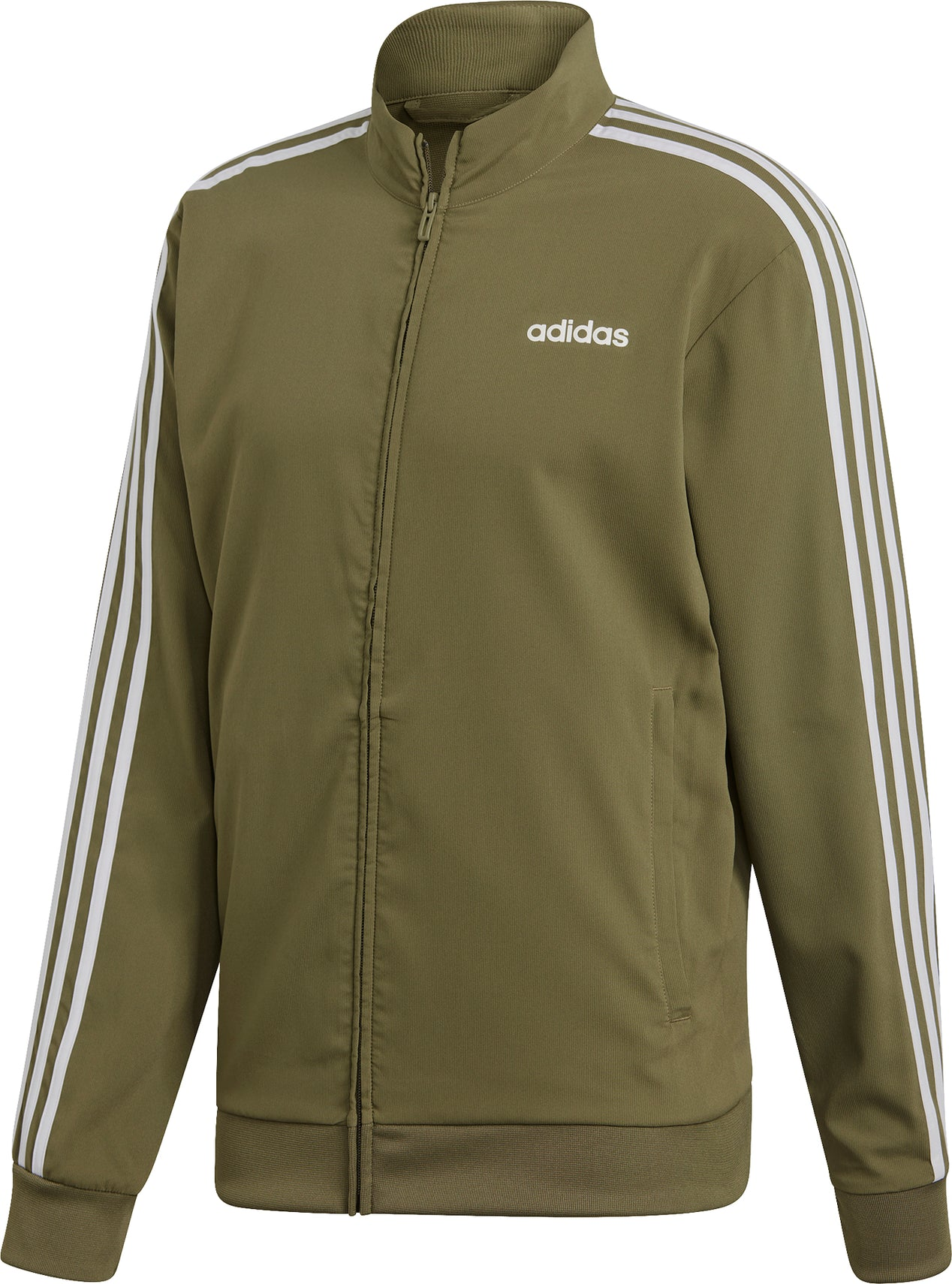 9310b050146f Adidas Essentials 3 Stripes Woven Track Top - Men s