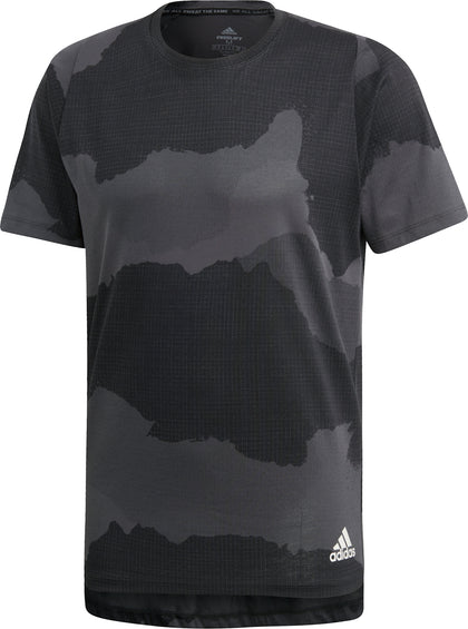 Adidas T-shirt Freelift Tech Camouflage Graphic - Homme