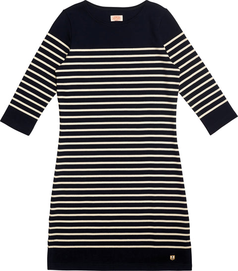 Armor Lux Striped Dress thick cotton - Women's