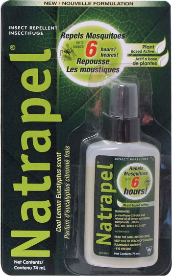 Adventure Medical Kits Vaporisateur Natrapel Citron Eucalyptus 74 ml