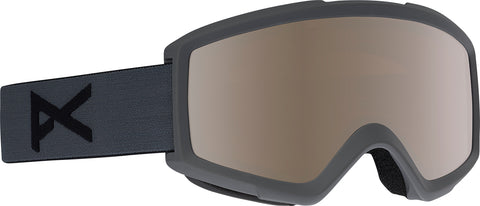 Anon Helix 2.0 Ski Goggles - Black Frame - Silver Amber + spare Lens - Men's