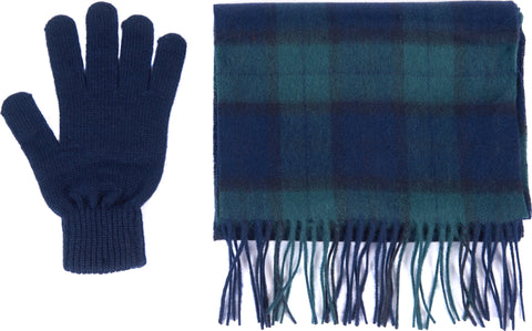 Barbour Scarf And Glove Gift Box - Men's