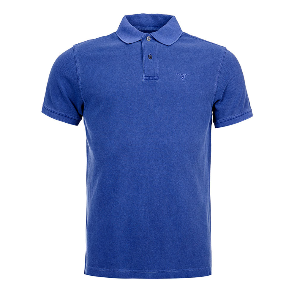 Barbour Chandail Polo Washed Sports Homme   Altitude Sports 204ebbf92dd9