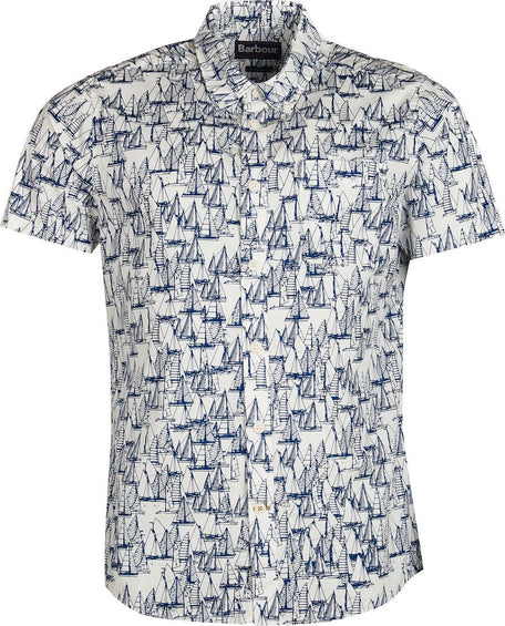 Barbour Boat Short Sleeved Shirt - Men's