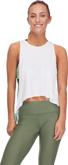 Body Glove Leah Crop-Top Tank In Areca - Women's