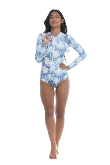 Body Glove Denim City Chanel Cross-Over Paddle Suit - Women's