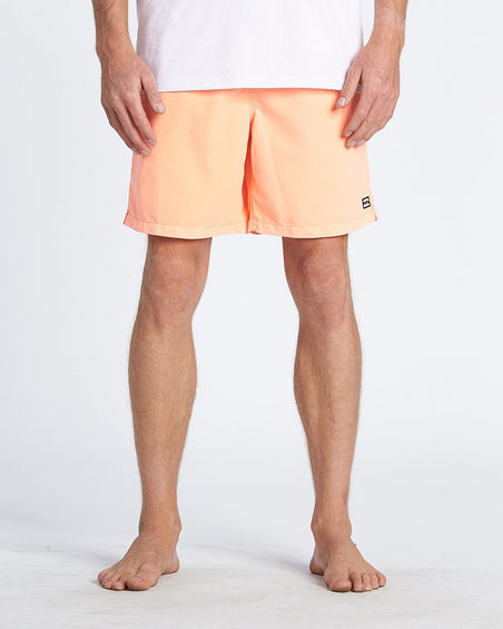 Billabong Short de bain All Day Overdye Layback - Homme