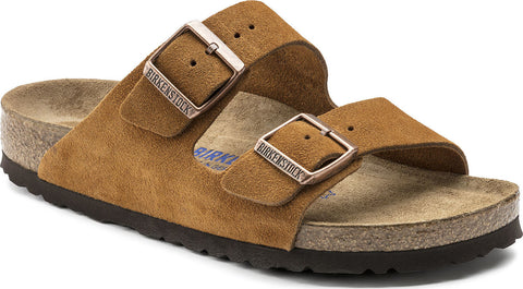 Birkenstock Arizona Soft Footbed Suede Leather - Narrow - Unisex