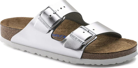Birkenstock Arizona Soft Footbed Leather - Narrow - Women's